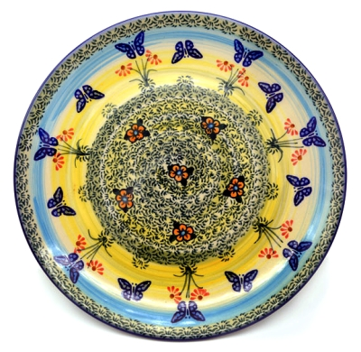 Polish Pottery side plate Carmen pattern