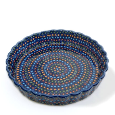 Polish-Pottery-Pie-Dish-Medium-Design-Irena