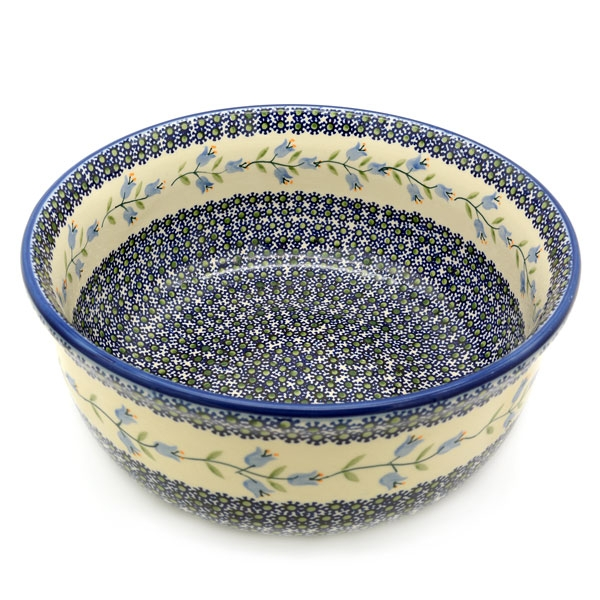 Polish Pottery Salad Bowl deep