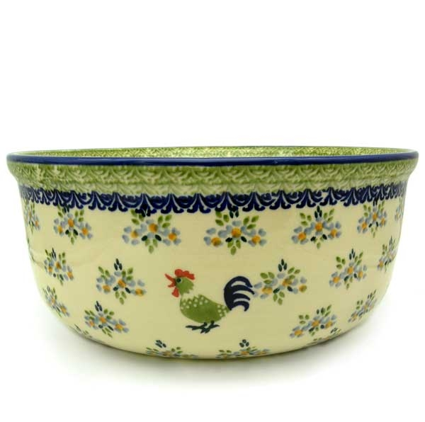 Polish Pottery Salad bowl large