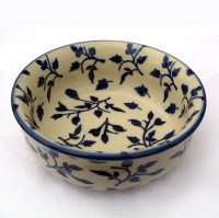 Polish Pottery pudding dish Lisa pattern