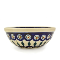 Polish Pottery cereal bowl small