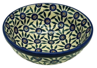 Polish Pottery Salad Bowl small dia.19cm