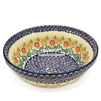 Polish Pottery Salad Bowl Adelheid design